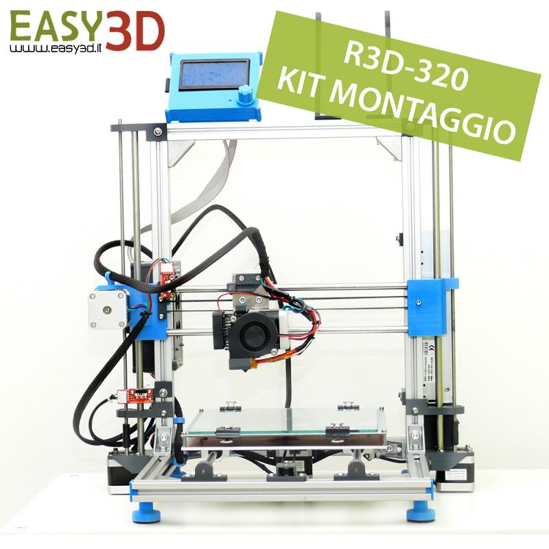 R3D-320 in kit Stampanti 3d Easy3D Palermo