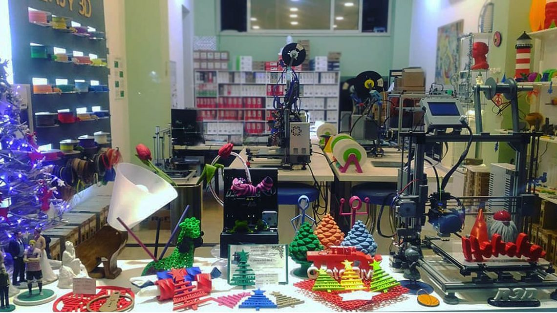 Easy 3D Shop & Lab Stampa 3d Palermo