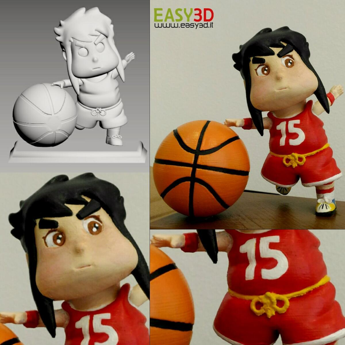 Statuine 3d action figure personalizzate stampa 3d Easy3D Palermo